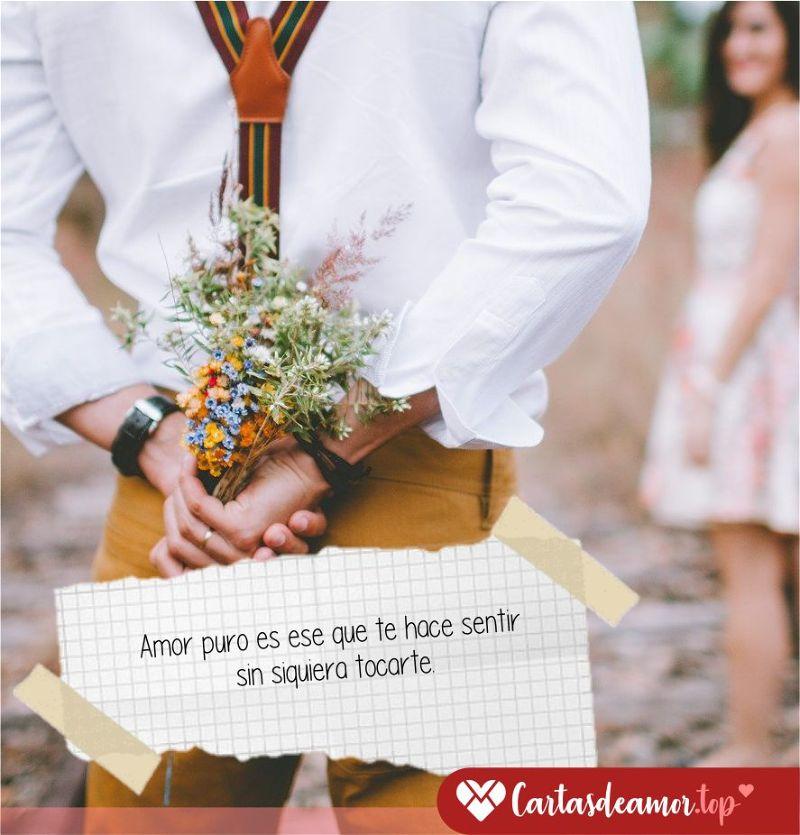 Frases de amor puro y eterno